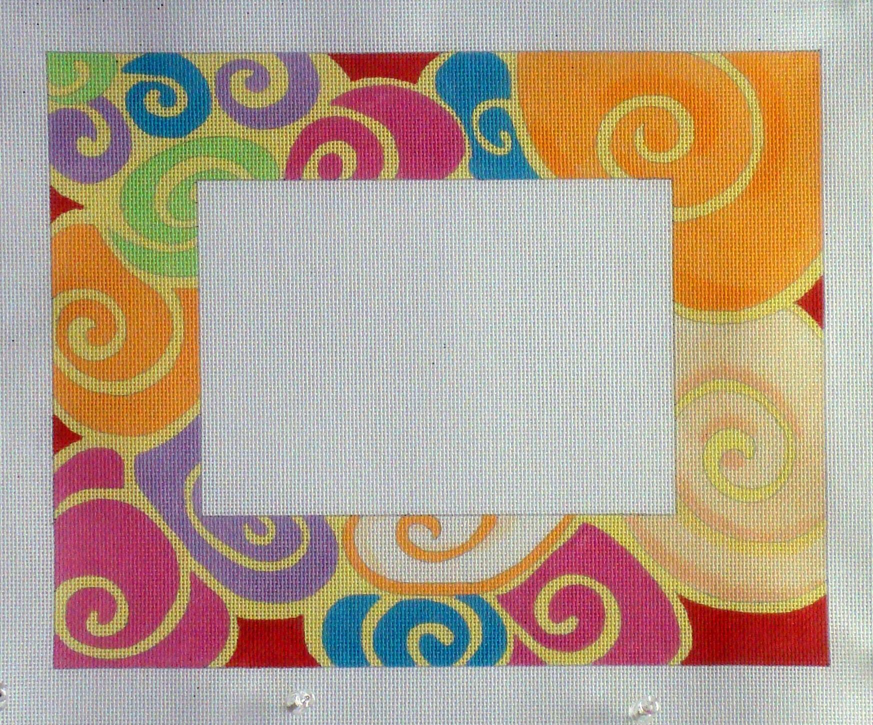 Moonshells Picture Frame (Handpainted by Julie Mar Designs) 18*KL1107
