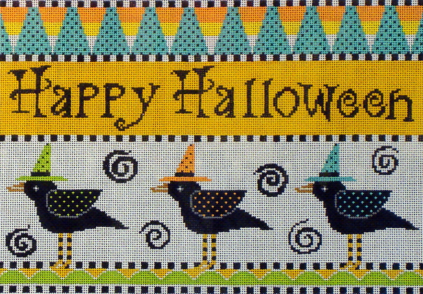 Happy Halloween Crows   (Sheey Tribbey Designs) H219
