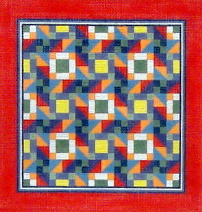 Road to Stardom Quilt   (handpainted by Susan Roberts) 18*1623M