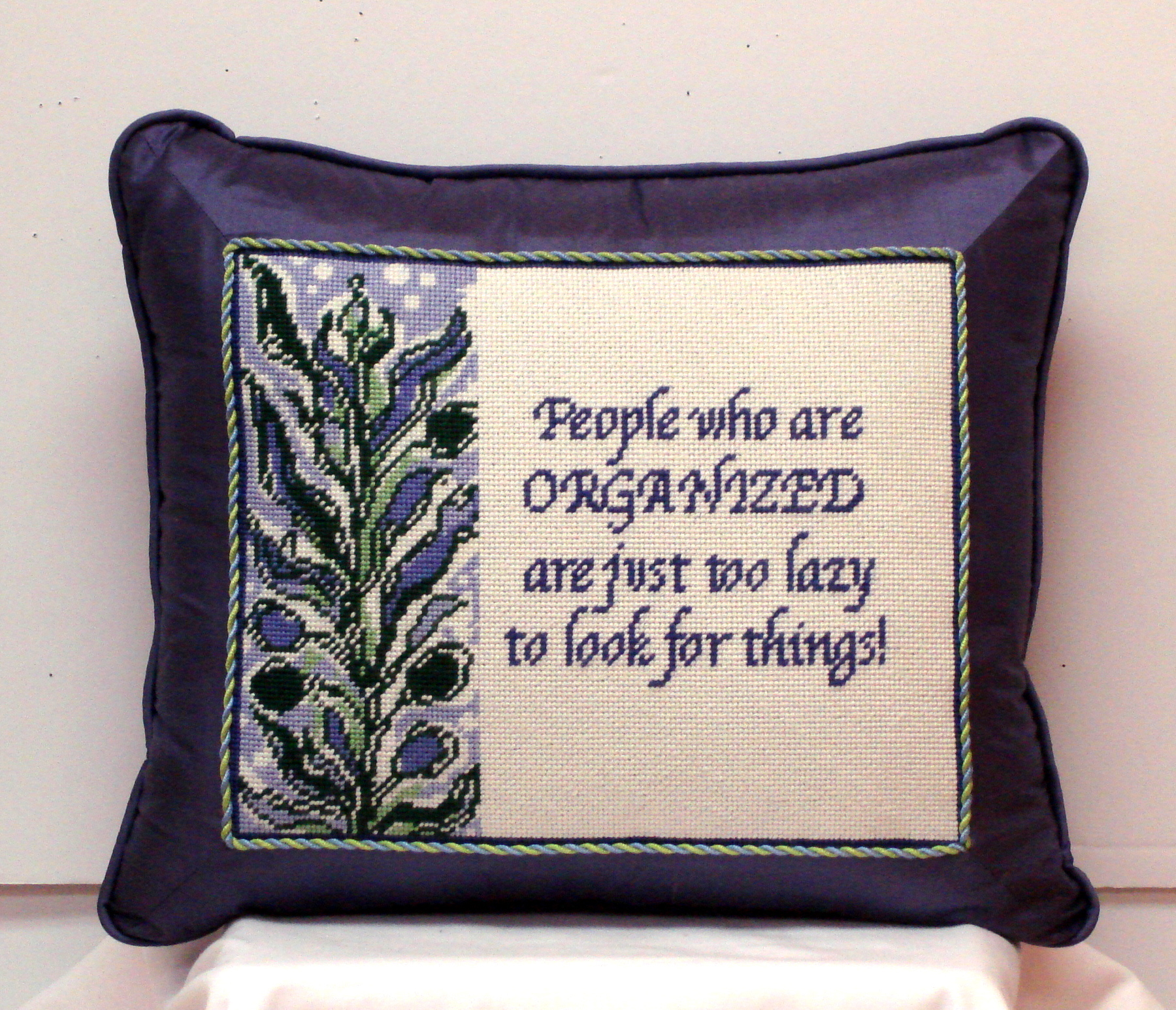 People who are organized.......(Handpainted by Cooper Oaks)