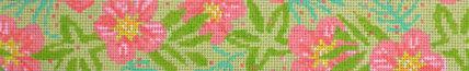 Hibiscus Pastel Belt (Handpainted by Voila) 18*BSK644P
