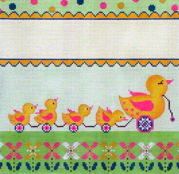 Duckies Birth Announcement  (Handpainted by Alice Peterson Company) 18*3578