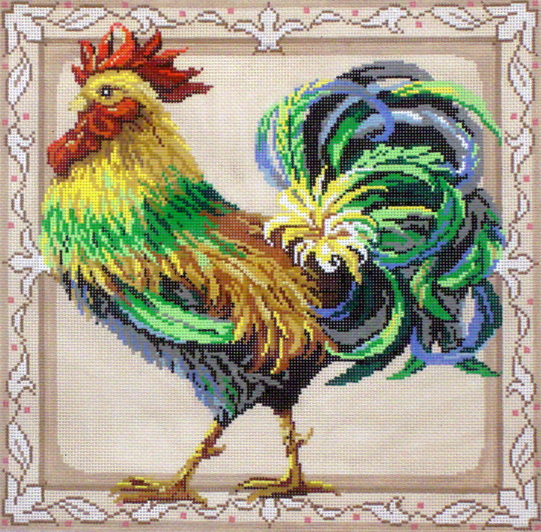 Rooster     (handpainted by Meredith Collection) 18*3228
