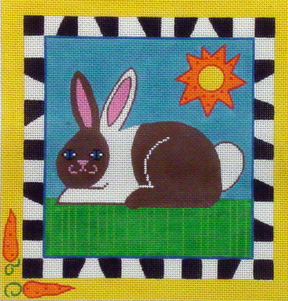 Bunny Rabbit  (handpainted by De Elda) 19*9970