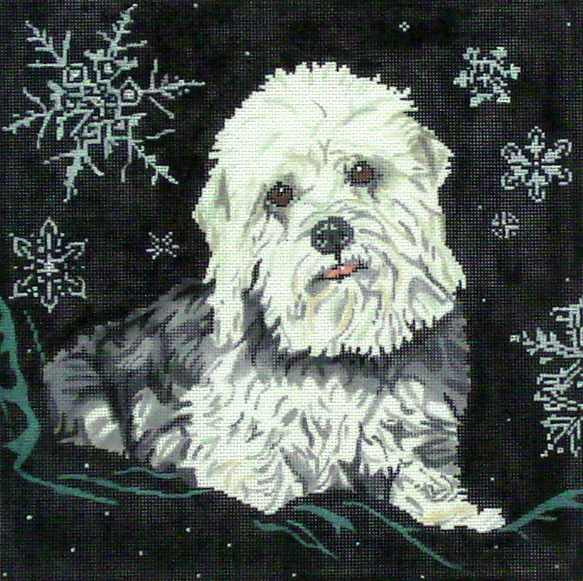 My Maggie, Dandie III   (Handpainted by Barbara Russell Designs) 18*BR313