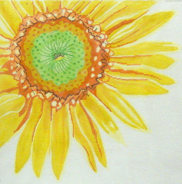 Large Sunshine Sunflower   (handpainted by Jean Smith) 18*181i