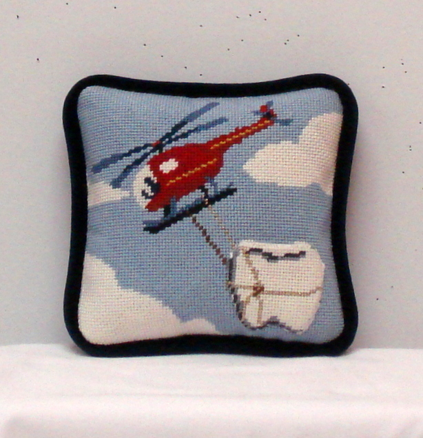 Helicopter Tooth Fairy Pillow   (Susan Roberts)
