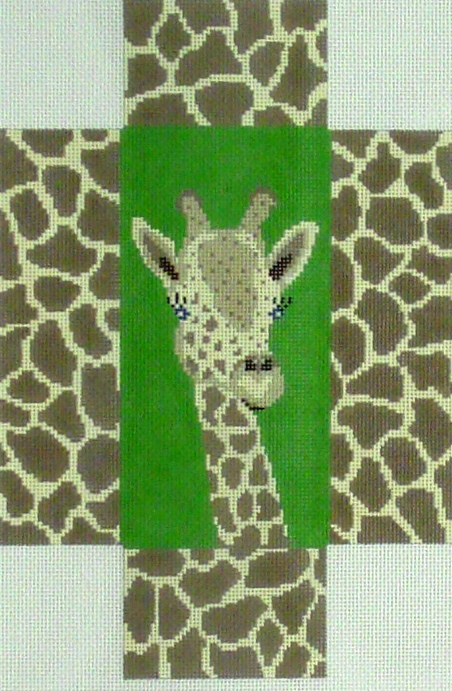 Giraffe Brick Cover (Handpainted by J. Child Designs) 18*BRK213