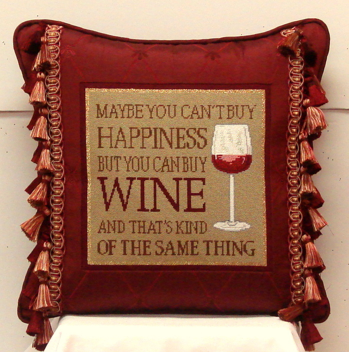 Buy Wine…. (Handpainted by Sandra Gilmore Designs)