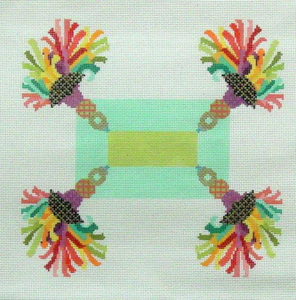 Tassel Pillow  (Needledeeva) *338