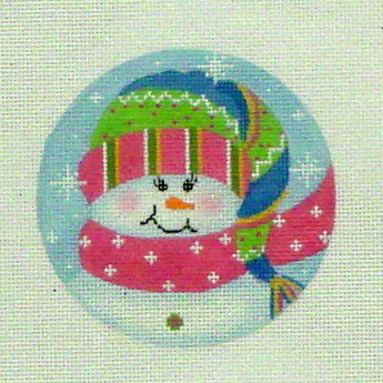 Sparkle Snowgirl (Handpainted by Pepperberry Designs) 18*SN19