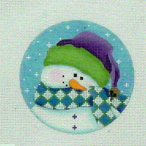 Shy Snowman (Handpainted by Pepperberry Designs) 18*SN26
