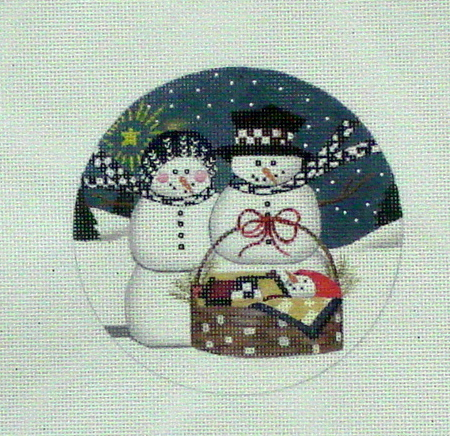 Snow Family (Handpainted by Danji Designs) 18*LK53