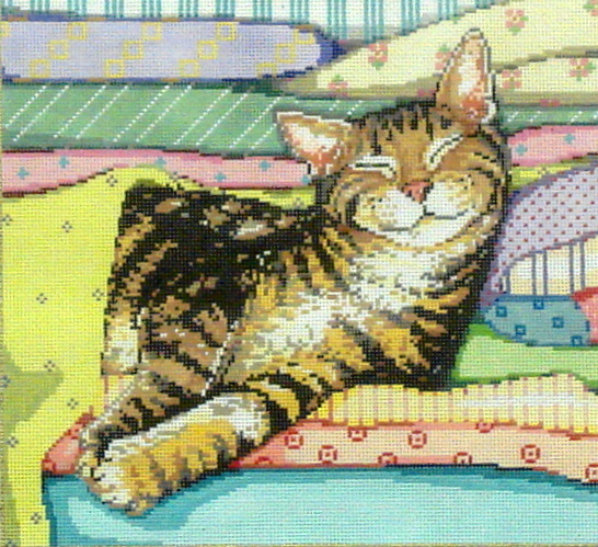 Catnap  (Handpainted by Sandra Gilmore Designs) 18*16-170