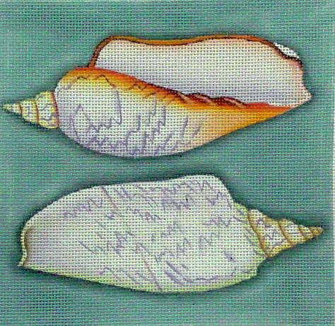 Twin Shells  (Melissa Shirley) *1847-D