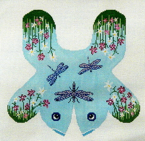 Dragonfly  (Handpainted by Needle Crossings) 18*7099
