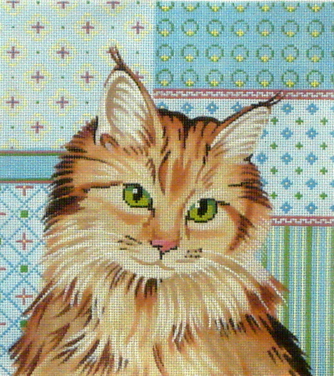 Maine Coon Cat   (Labors of Loe) LL416J