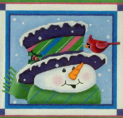 Topper Snowman  (includes Stitch Guide) *SN21