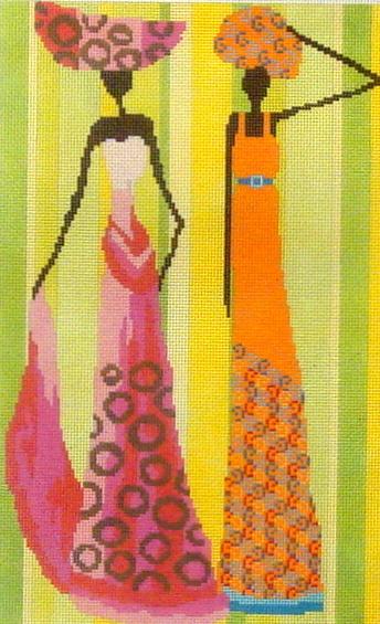 Two Ethnic Women 115-13