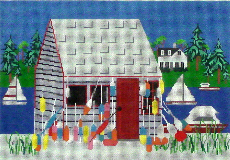 Bailey's Island  (Handpainted by Wellesley Needlepoint Collection) 18*NL70