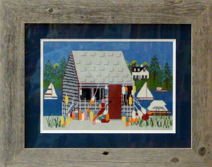 Bailey's Island  (Handpainted by Wellesley Needlepoint Collection)