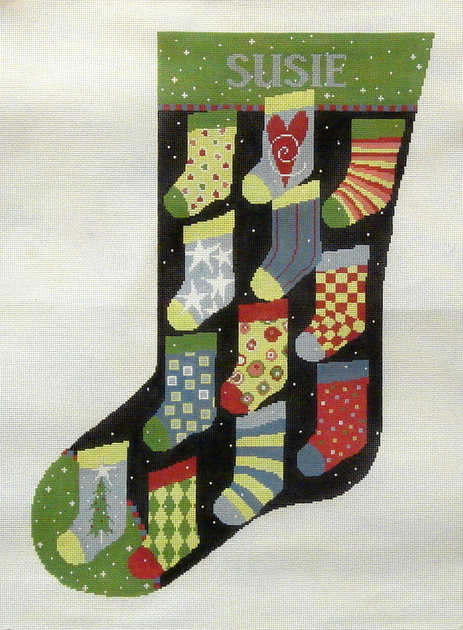 Stockings Stocking  (handpainted from Pippin Studio) 18*P-CH-006
