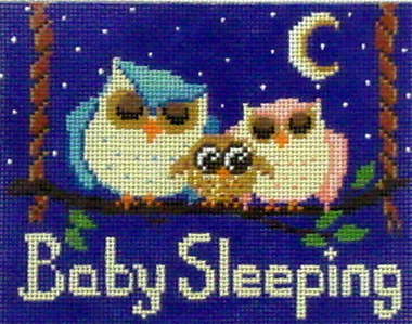 Baby Sleeping Owls   (Alice Peterson) *2668