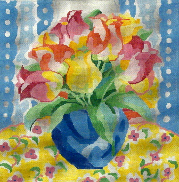 Matisse's Table X  (handpainted by Jean Smith) 18*123-J