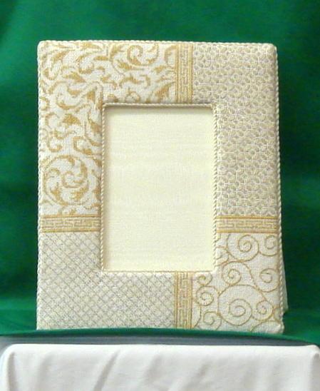 Silver & Gold Elegance Picture Frame      (JP Designs)