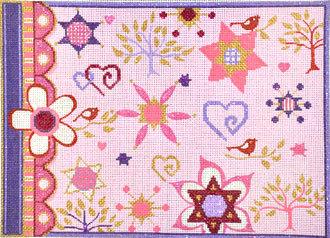 Girls Pink Tallis Bag