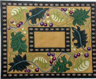 Fruit of the Vine Tallis Bag   (handpainted bySusan Roberts)