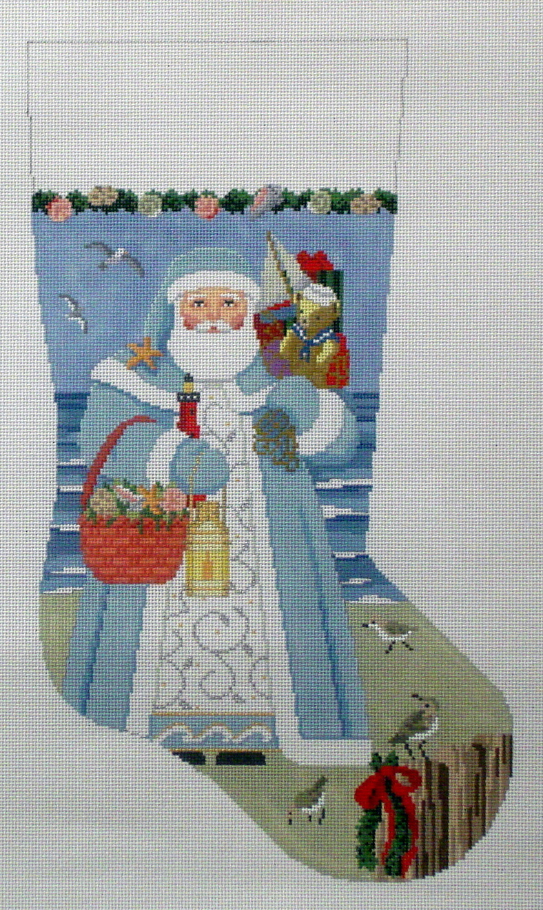 Nautical Santa   (handpainted by Susan Roberts)
