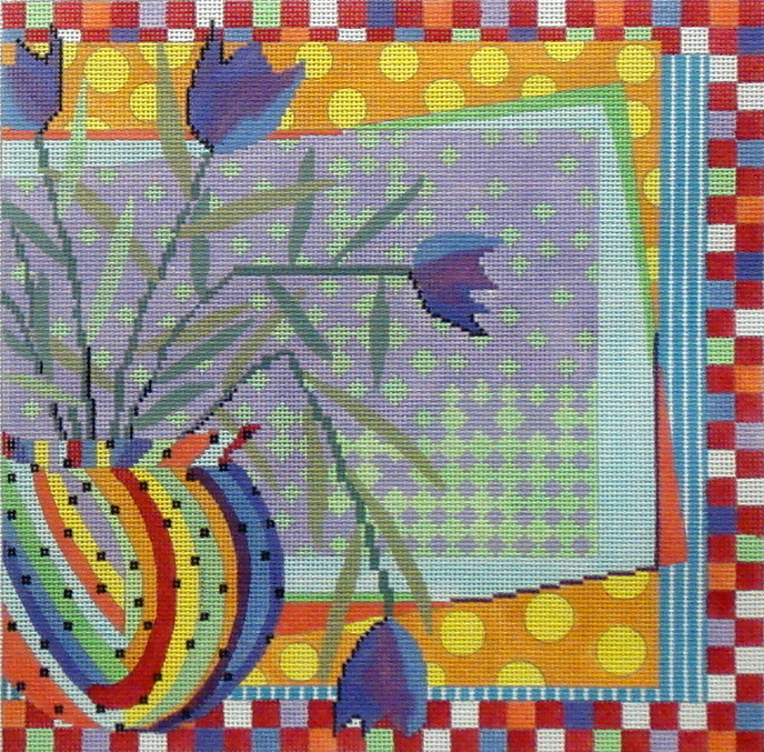 Still Life   (Handpainted by All About Stitching) 18*PM407