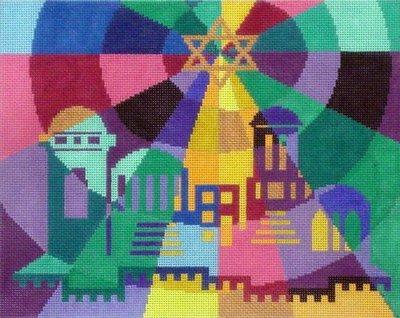 Prism City    (Handpainted by Fleur de Paris)