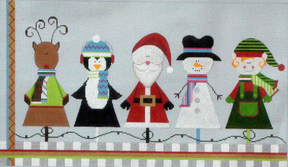 Christmas Friends, includes Stitch Guide     (Sew Much Fun) *0001