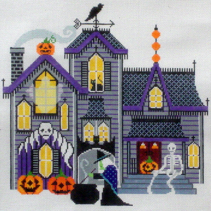 Halloween Manor    (Shelley Tribbey) *H910