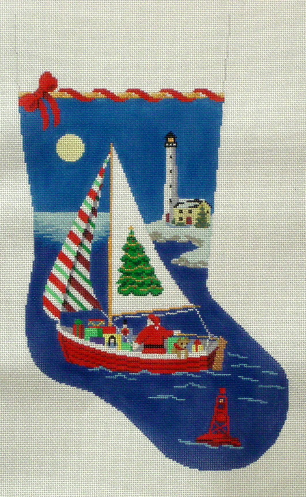 Sailing Santa    (handpainted by Susan Roberts) 18*3232