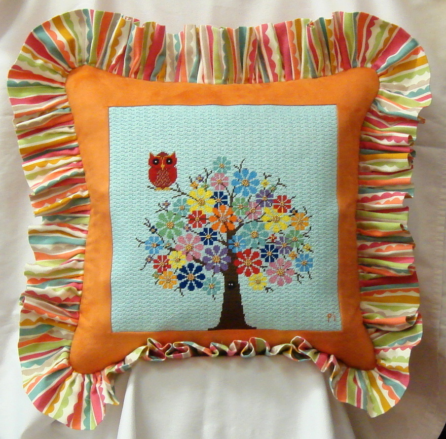 Canvas Stitched by Patty Ittner