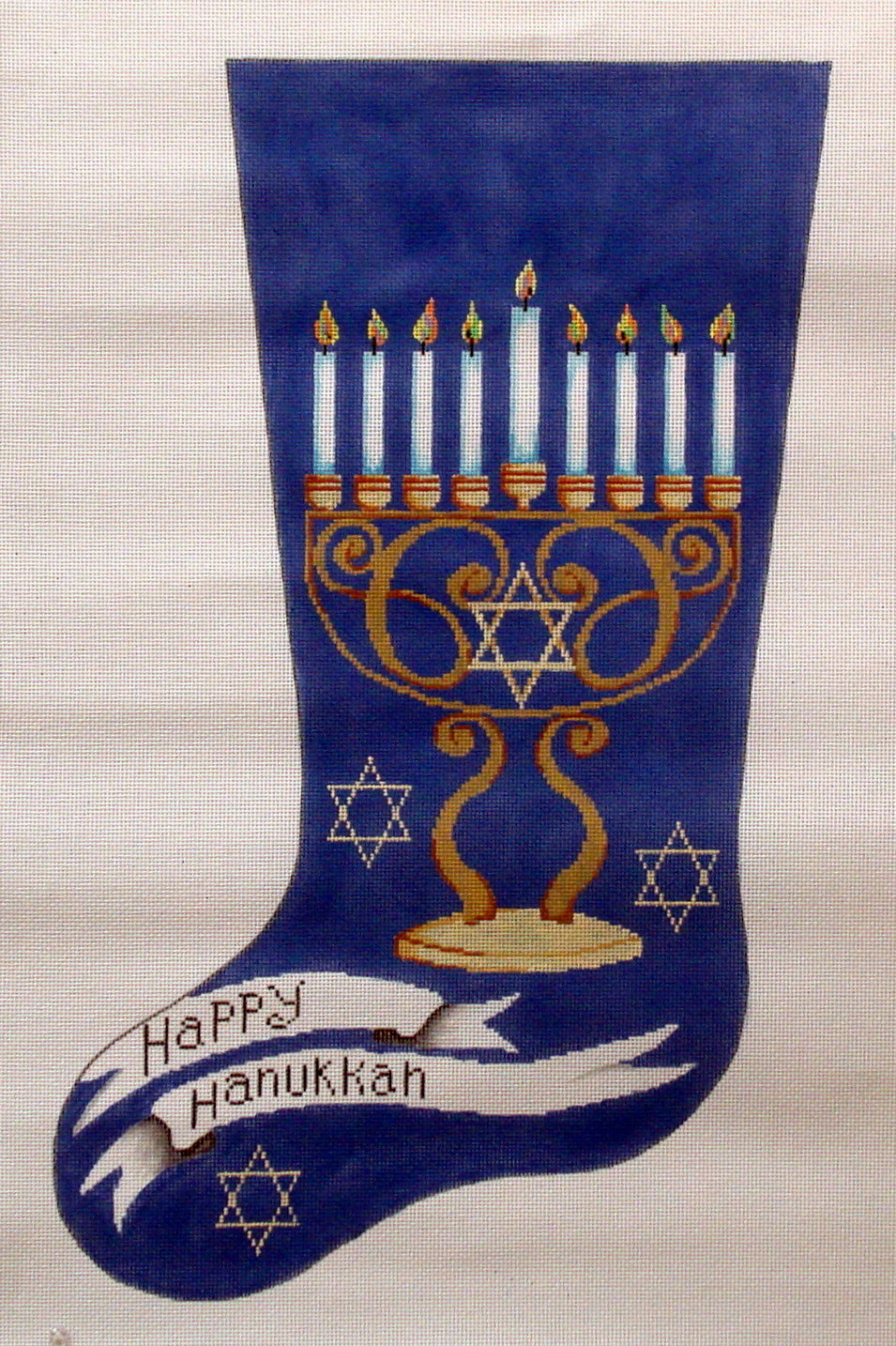 Happy Hanukkah Stocking 18*11321-JUD