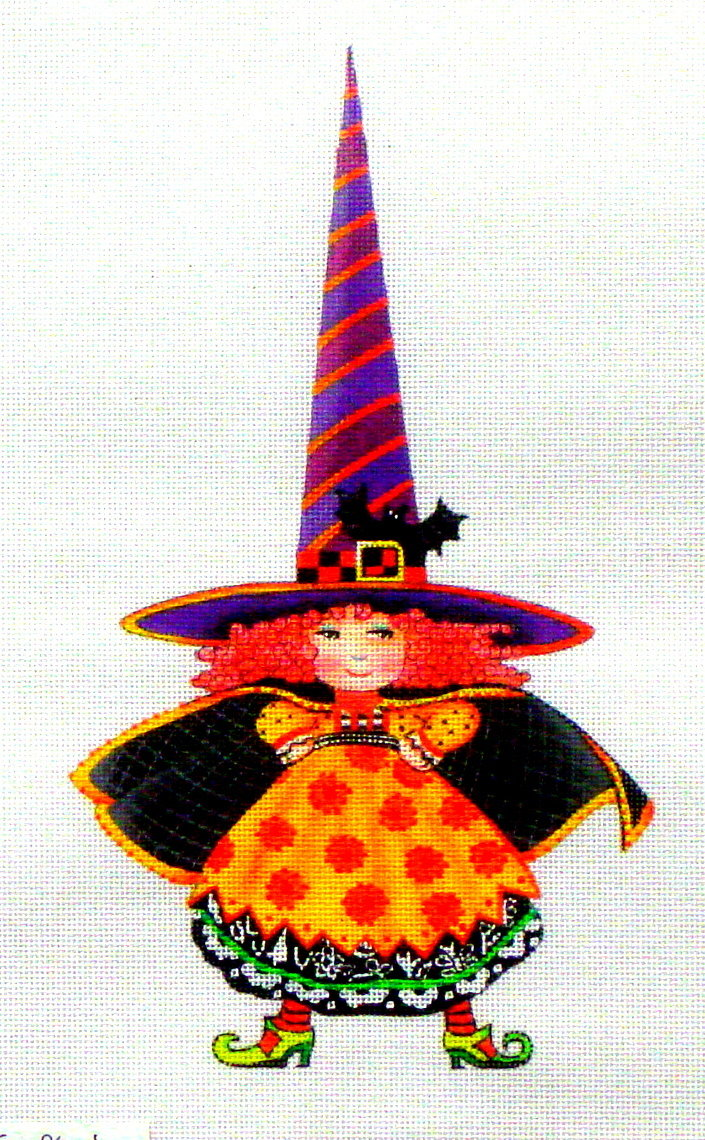 Fitting Hat    (Handpainted by Painted Pony Designs) 18*ME-WT01