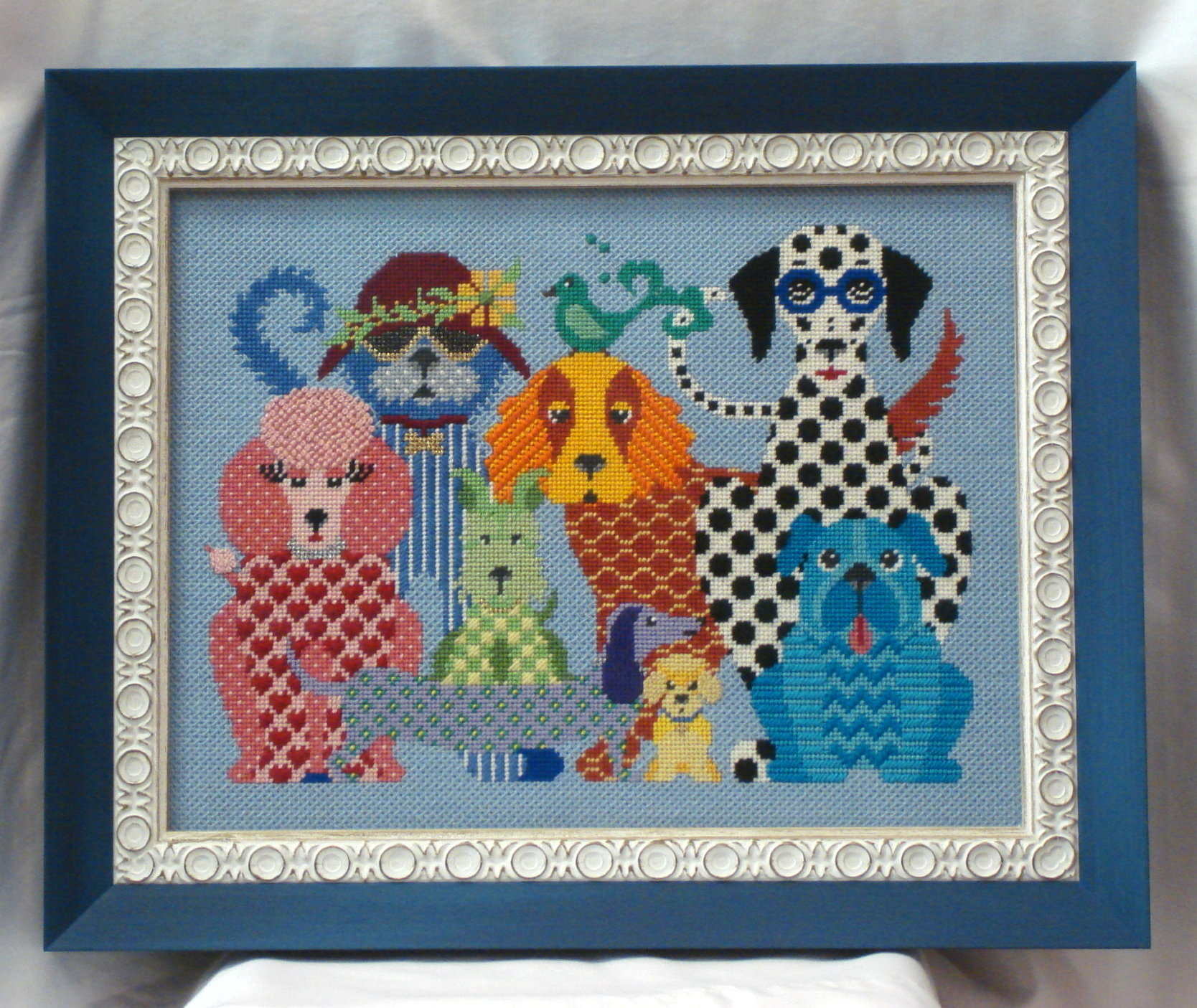 Dog Gone Good    (Handpainted by J P Needlepoint)