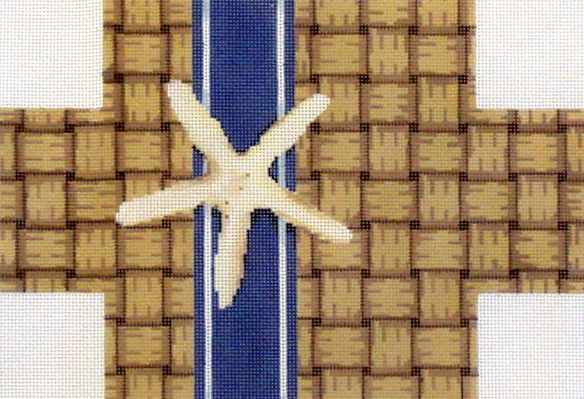 Wicker/Starfish Brick Cover  (Hand Painted by Associated Talent) 18*BC-326
