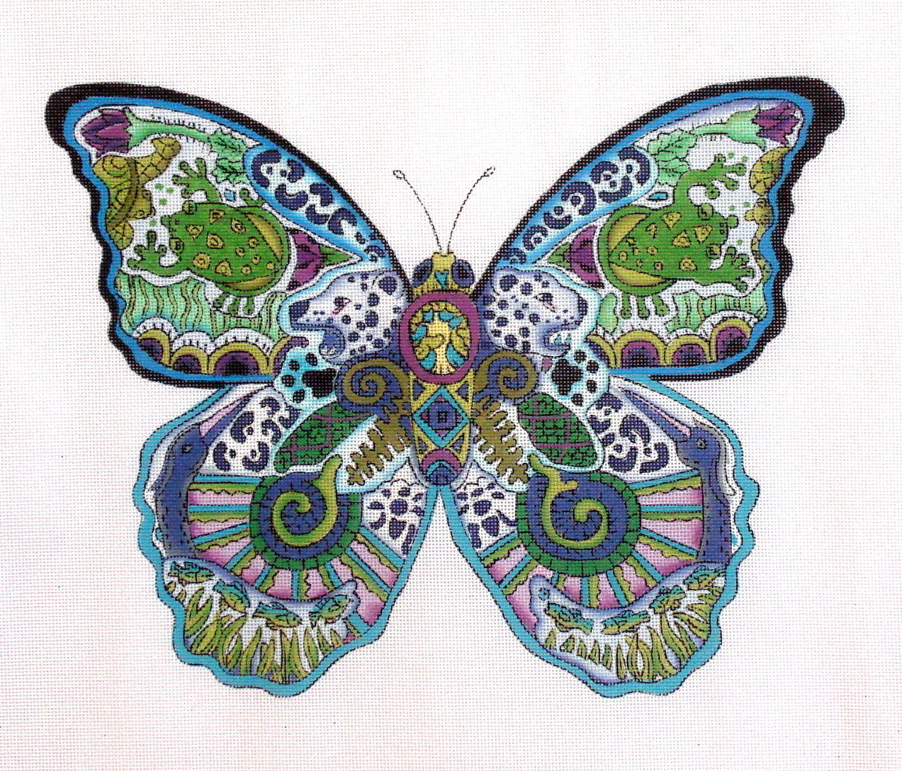 Butterfly   (Handpainted by Danji) 18*EA-16