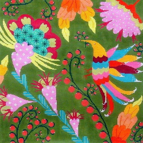 Fiesta  (Handpainted by Machelle Somerville)