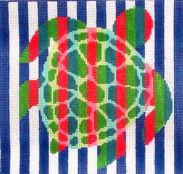 Turtle Strips      (handpainted from Two Sisters