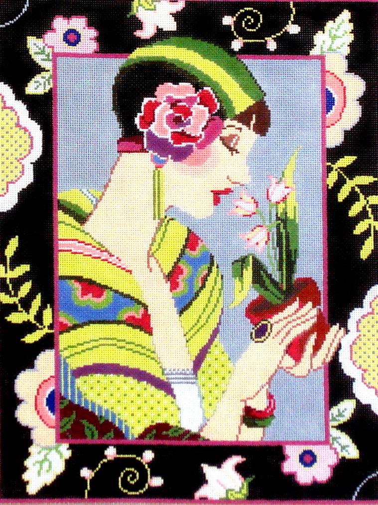 Camille     (handpainted from Fleur de Paris) 19*18-552