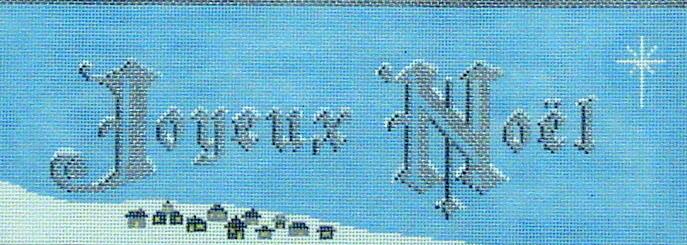 Joyeux Noel (Handpainted by Dream House Ventures) 18*F3704000