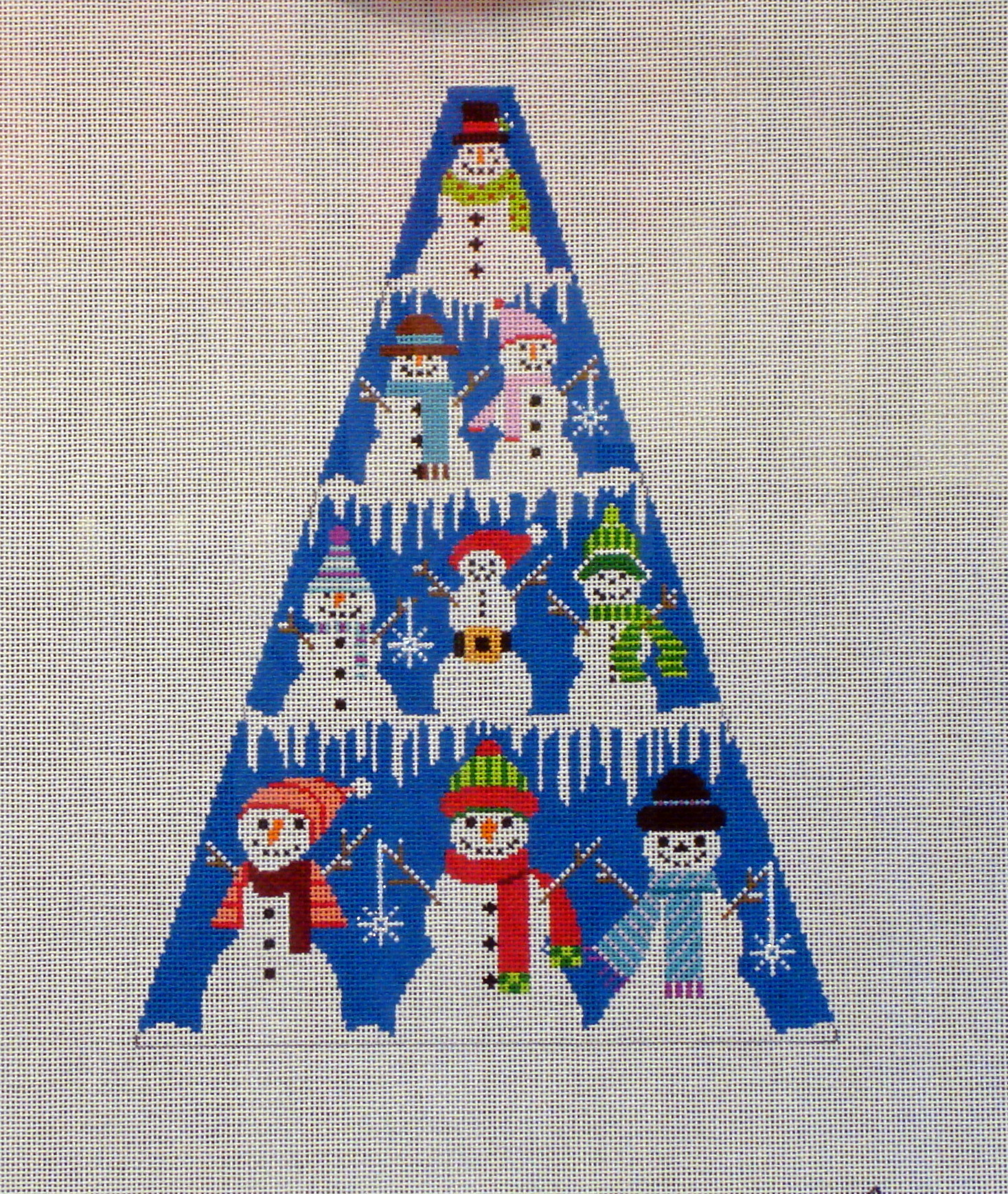 Snowman Tree Standup (Handpainted by Shelly Tribbey Designs) 18*CT04
