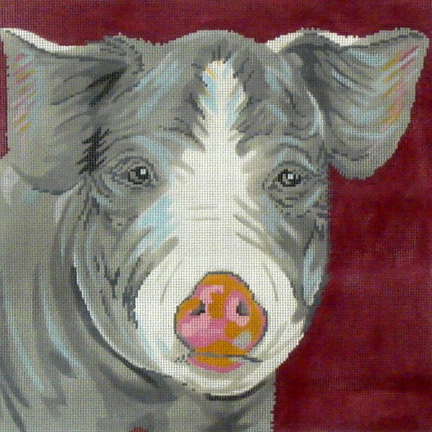 Pig      (handpainted from Elizabeth Turner Collection) 18*CO-54-G