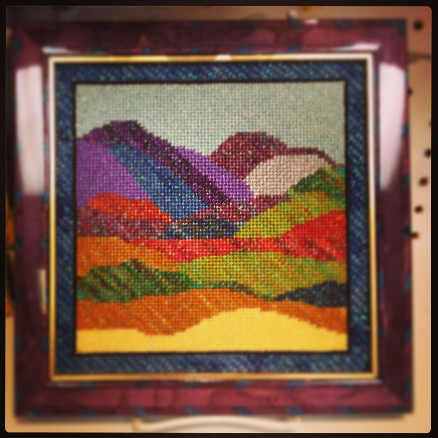 Rivers & Mountains (Handpainted by JP Needlepoint)
